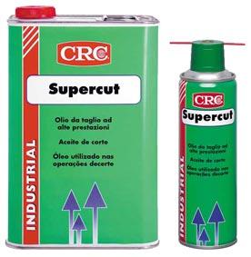 SUPERCUT Olio da taglio, rende più rapido il taglio dei metalli, mantiene l\