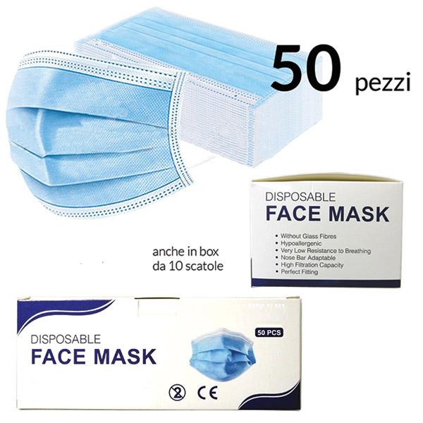Caratteristiche:- Senza fibre di vetro- Ipoallergenica- Bassa resistenza al respiro- Barra nasale adattabile- Alta capacità di filtrazione- Perfetta vestizione