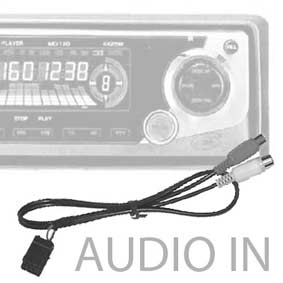 CAVI AUDIO IN-OUT PER AUTORADIO