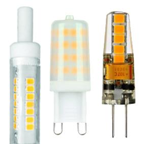 LAMPADE LED BISPINA G4-G9-R7S