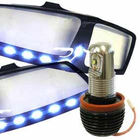 LAMPADE LED 12V ANGEL EYES