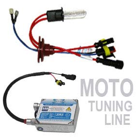 KIT XENON XENITE PER MOTO TUNING LINE