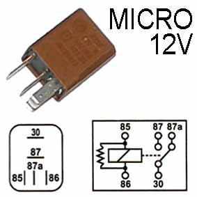 RELE MICRO 12V