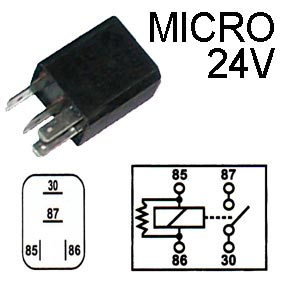 RELE MICRO 24V