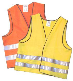 GIUBBETTO DI SEGNALAZIONE Indumento da segnalazione corrispondente alle caratteristiche di sicurezza previste nella norma europea EN471 per i requisiti di alta visibilita´.Disponibile nei colori giallo e arancione.