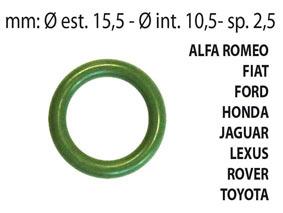 KIT 25 pz  O-RING aria condizionata in HnbrALFA ROMEO, FIAT, FORD, HONDA, JAGUAR, LEXUS,ROVER, TOYOTA